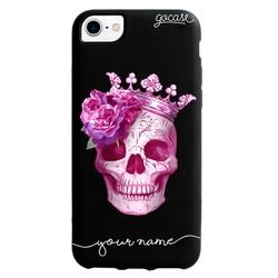Black Case-Pink-skull Phone Case