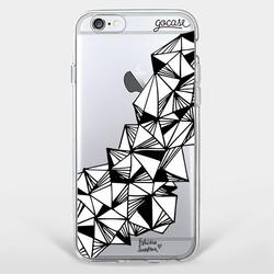 Capinha para celular Pirâmides Abstratas