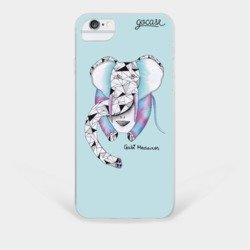 Capinha para celular Uma Menina e o Elefante
