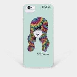 Capinha para celular Uma Menina e o Arco-íris
