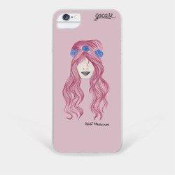 Capinha para celular Uma Menina e As Três Rosas