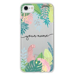 Tropical Plants Handwritten Phone Case