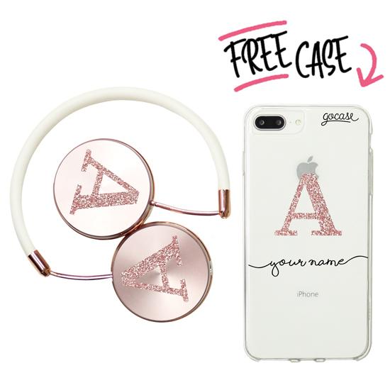 Kit Glitter (headphones + case)