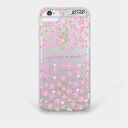 Delicate Flowers Handwritten Phone Case