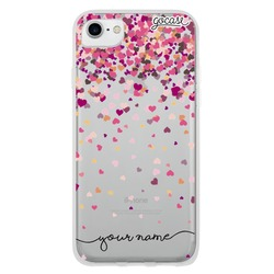 Rain of Hearts Handwritten Phone Case