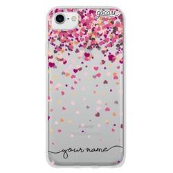 Rain of Hearts Handwritten Phone Case