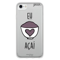Capinha para celular Amo Açaí