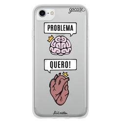 Capinha para celular Razão e Emoção - Problema