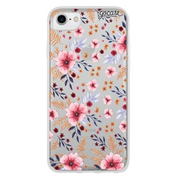Flowers Pink and Yellow Phone Case