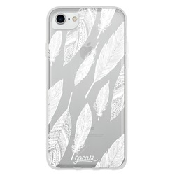 White Feathers Phone Case