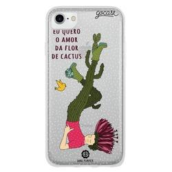 Capinha para celular Flor de Cactus
