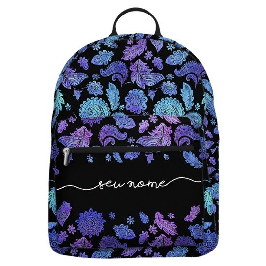 Mochila Gocase Bag - Purple Manuscrita