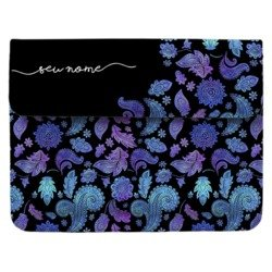 Case Clutch Notebook - Purple Manuscrita