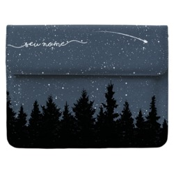 Case Clutch Notebook - Folhas Noturnas Manuscrita