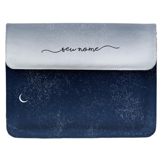 Case Clutch Notebook - Tons Noturnos Manuscrita