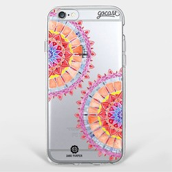 Capinha para celular Mandala e Textura