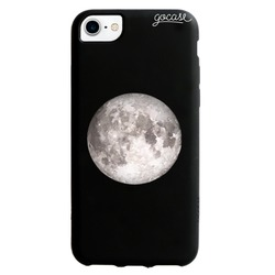 Black Case - Moon But Smaller Phone Case