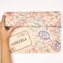 Clutch passaporte abertura 2 1x1