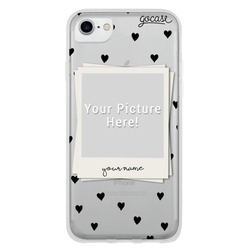 Picture - Black Hearts Phone Case
