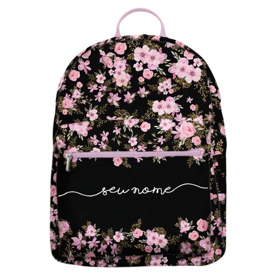 Mochila Gocase Bag - Flores Royale Manuscrita