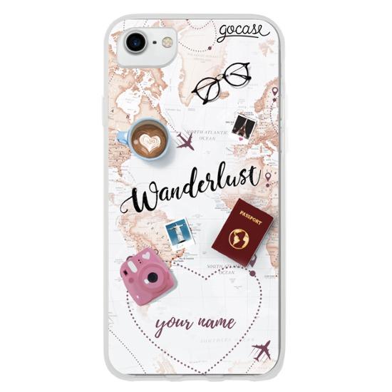 World Trip Customizable Phone Case