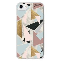 Marble Geometric Phone Case