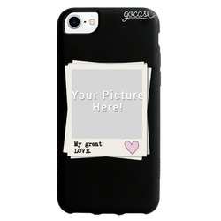 Picture - Black case - Picture My Great Love Phone Case