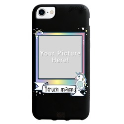 Picture - Black case - Picture Unicorn Phone Case