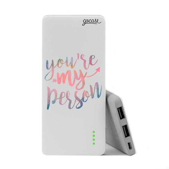 Carregador Portátil Power Bank Slim (5000mAh)  - My Person