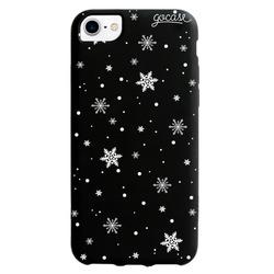 Black Case - Snowflakes Phone Case