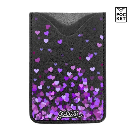 Black Pocket Purple Hearts