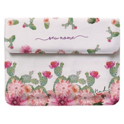 Case Clutch Notebook - Cactos Floridos By Nah Cardoso