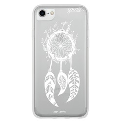 White Dream Catcher Phone Case