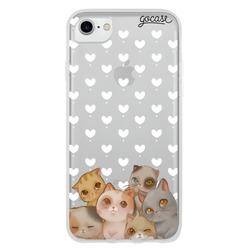 Capinha para celular Fofura de Gatos