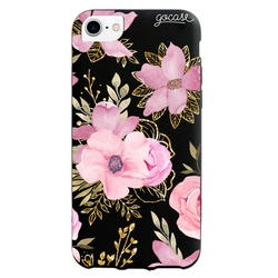 Black Case - Royal Flowers Phone Case