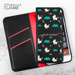 Royal Wallet - Unicorns Handwritten Phone Case