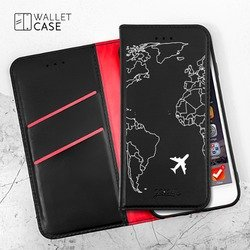 Royal Wallet - World Map Phone Case