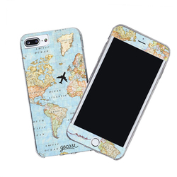 Kit World Map Handwritten (Case + Screen Protector)
