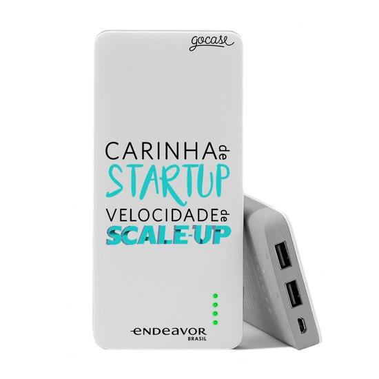 Carregador Portátil Power Bank (10000mAh) - Endeavor - Carinha de Startup