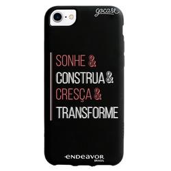 Capinha para celular Color Black - Endeavor - Sonhe, Construa, Cresça e Transforme