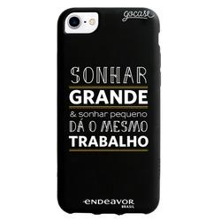 Capinha para celular Color Black - Endeavor - Sonhar Grande