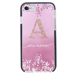 Capinha para celular Anti-Impacto PRO - Arranjo Rosa Glitter