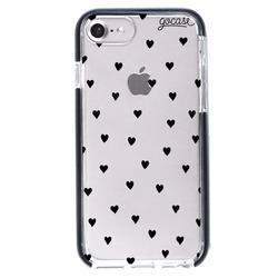 Capinha para celular Anti-Impacto PRO - Black Hearts
