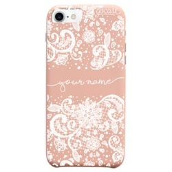 Royal Rose - Lace White Handwritten Phone Case