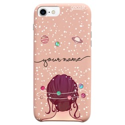 Royal Rose Universe Mind Handwritten Phone Case