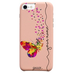 Royal Rose - Floating Butterflies Handwritten Phone Case