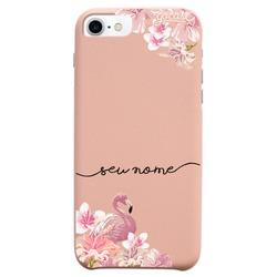 Capinha para celular Fascino - Flamingo Glitter