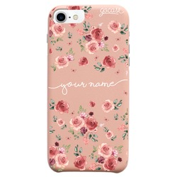 Royal Rose - Lovely Pink Flowers Handwritten Phone Case