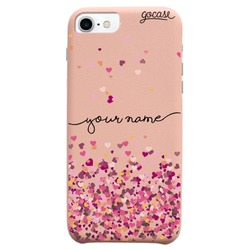 Royal Rose Hearts Handwritten Phone Case