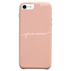 Royal Rose Handwritten (White) Phone Case